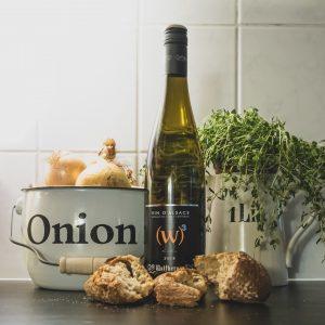viini ja sipulikeitto