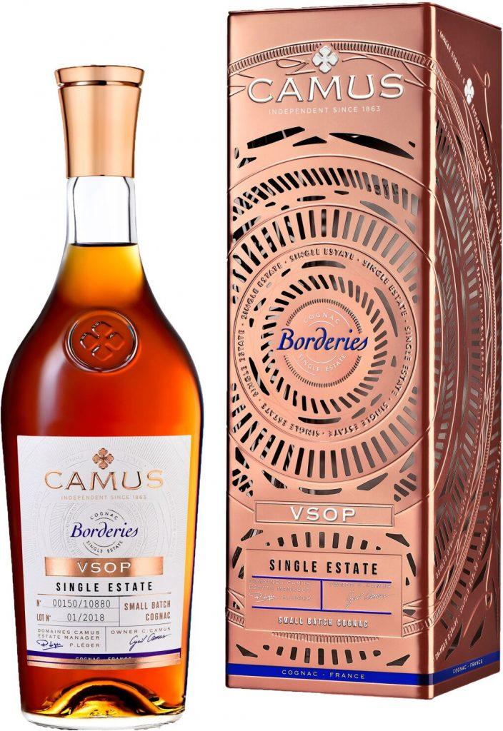 Camus Borderies VSOP gift tin 2019 NEW LABEL