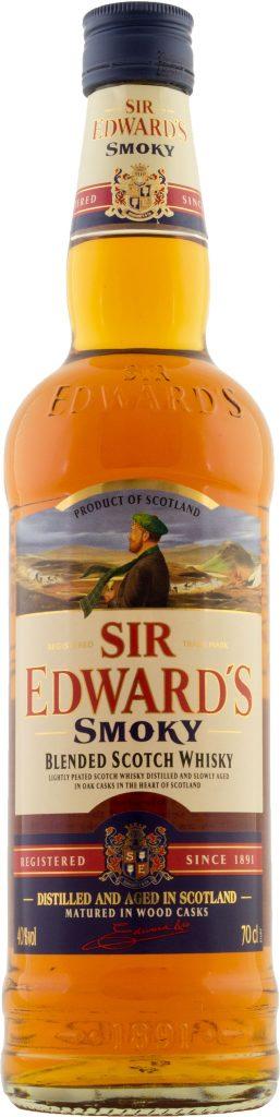 Sir Edwards Smoky Blended Scotch Whisky 70cl