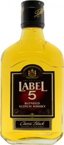 Label 5 Blended Scotch Whisky 20cl