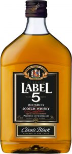 Label 5 Blended Scotch Whisky PET 50cl