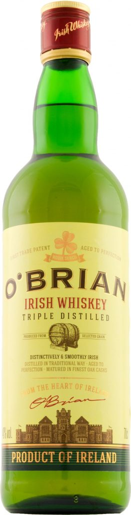 OBrian Irish Whiskey