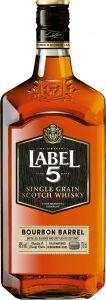Label 5 Single Grain 70cl