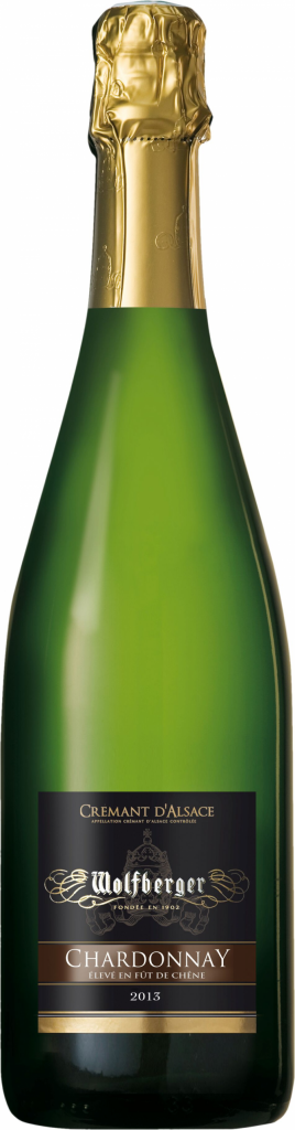 Wolfberger Cremant dAlsace Chardonnay Brut 75cl