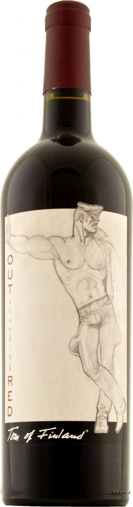 Tom of Finland Outstanding Red 75cl