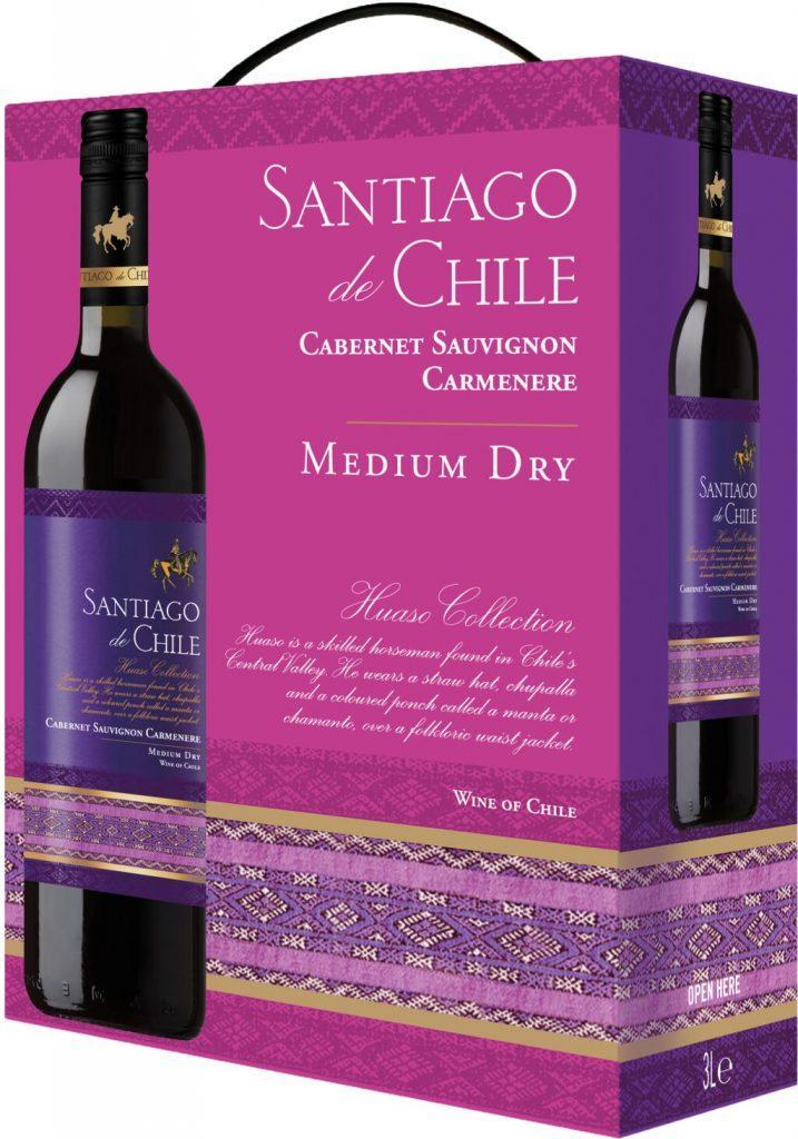 Santiago de Chile Red BIB 300cl