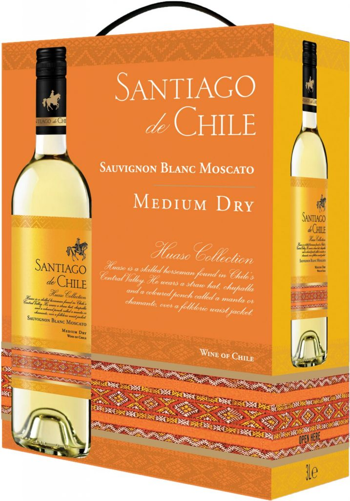 Santiago de Chile White BIB 300cl