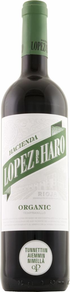 Lopez de Haro Organic Tempranillo 75cl