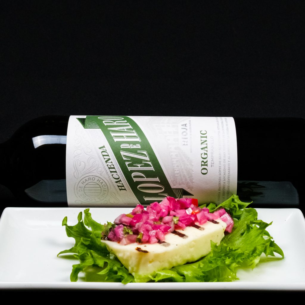 Lopez de Haro Organic ja juusto