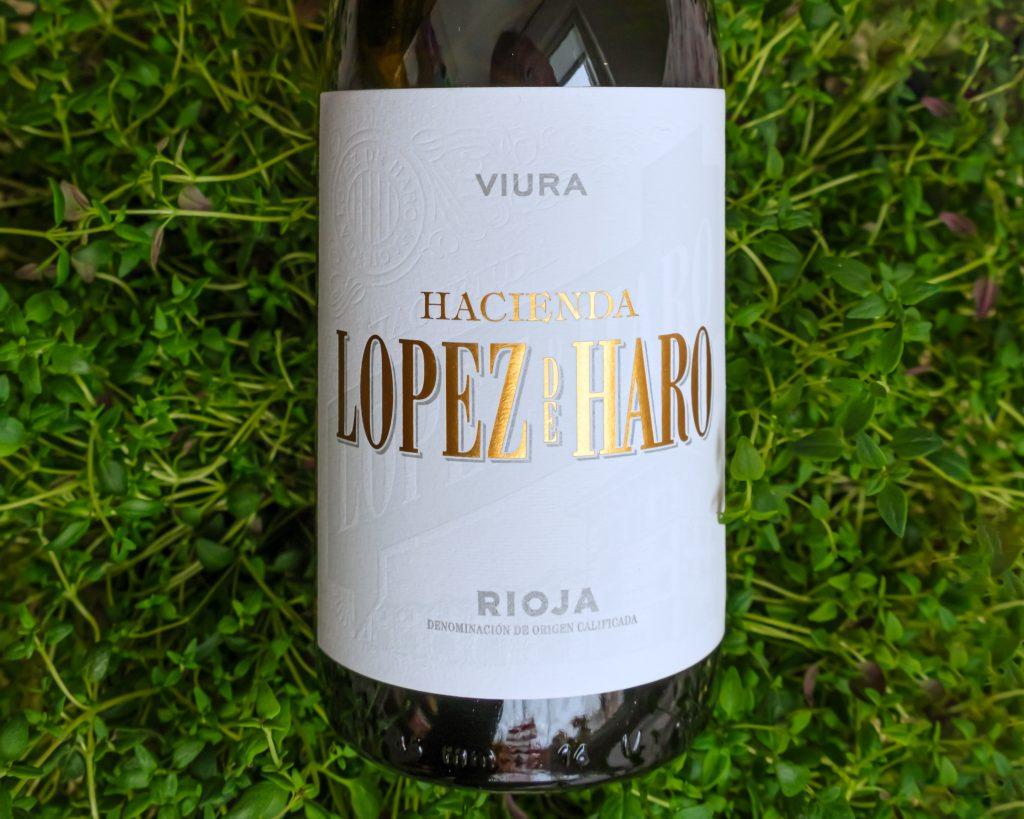 Hacienda Lopez de Haro Viura vegaaninen viini ja vihreät arvot