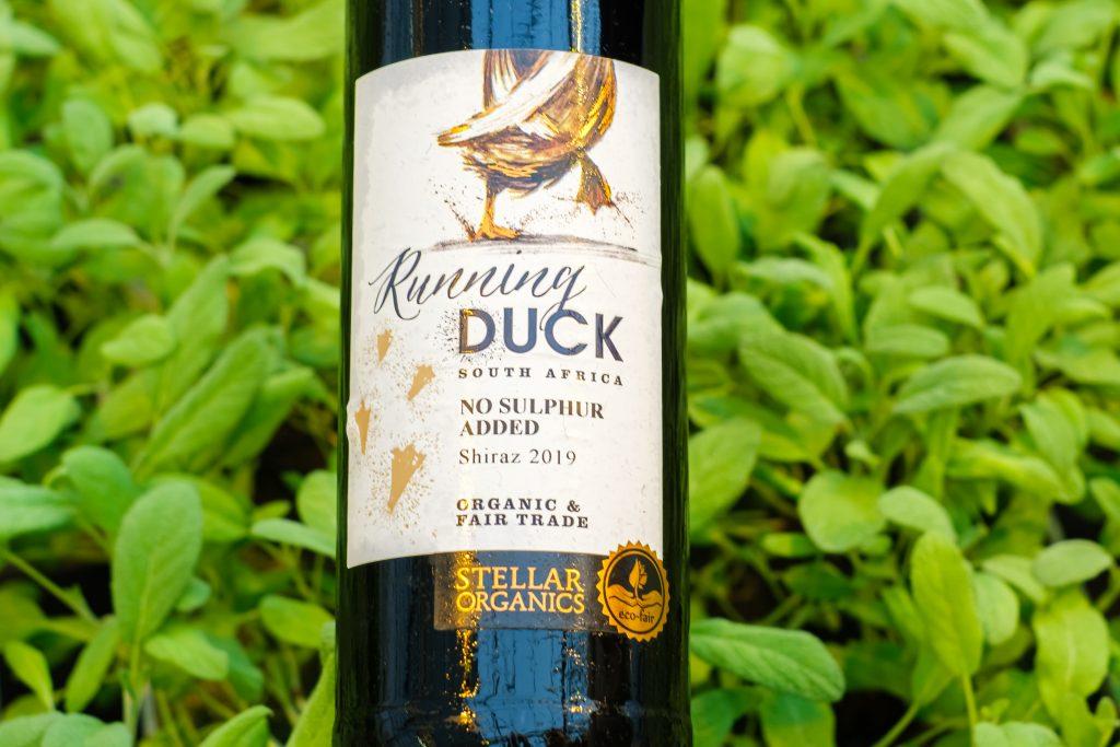 Running Duck Shiraz vihreä valinta