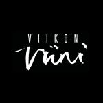 viikonviini black logo