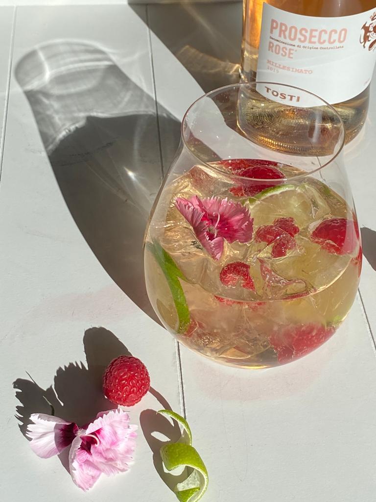 lime-kuohuviinicocktail