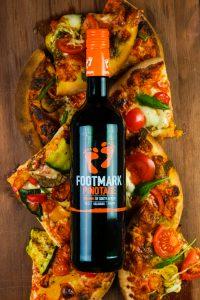 Footmark pinotage ja pizza