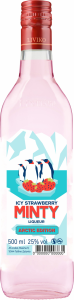 Minty Icy Strawberry Liqueur 50cl