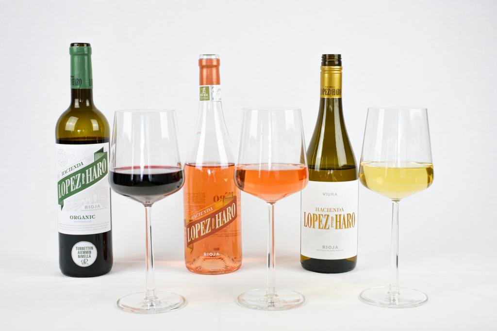 Lopez De Haro viini trio