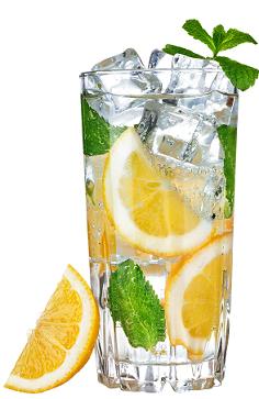 Inkiväärinen tonic drinkki
